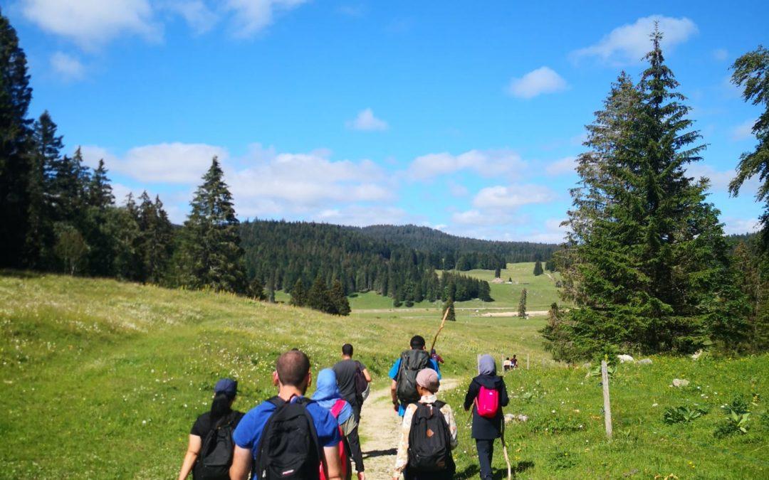Hike to La Dôle
