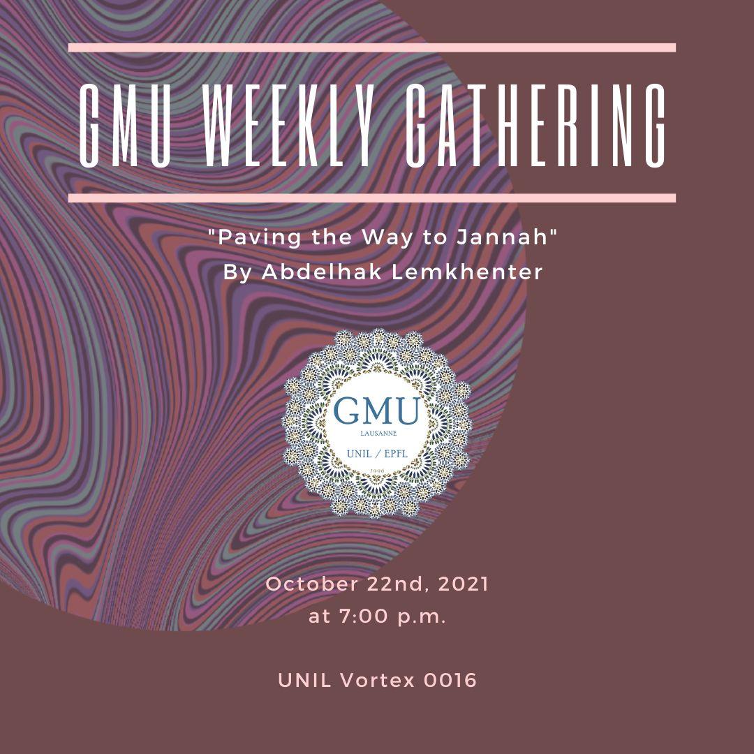 GMU Weekly Gathering